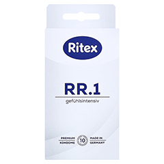 RITEX RR.1 Kondome 10 Stück - Vorderseite