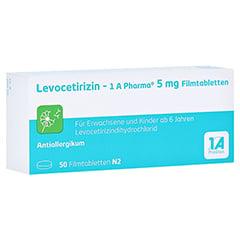 LEVOCETIRIZIN-1A Pharma 5 mg Filmtabletten 50 Stück N2