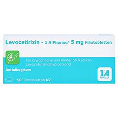 LEVOCETIRIZIN-1A Pharma 5 mg Filmtabletten 50 Stück N2 - Vorderseite
