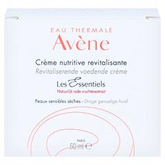 Avène Les Essentiels Revitalisierende Nutritive Creme 50 Milliliter - Rückseite