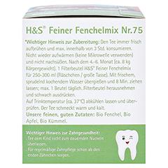 H&S Bio Baby- u.Kindertee Feiner Fenchelmix Fbtl. 20x1.5 Gramm - Linke Seite