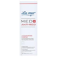 LA MER MED+ Anti-Red Couperose Creme o.Parfüm 50 Milliliter - Vorderseite