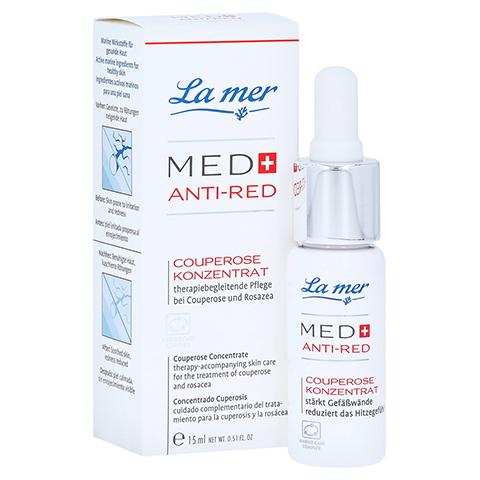 LA MER MED+ Anti-Red Couperose Konzentrat o.Parfüm 15 Milliliter