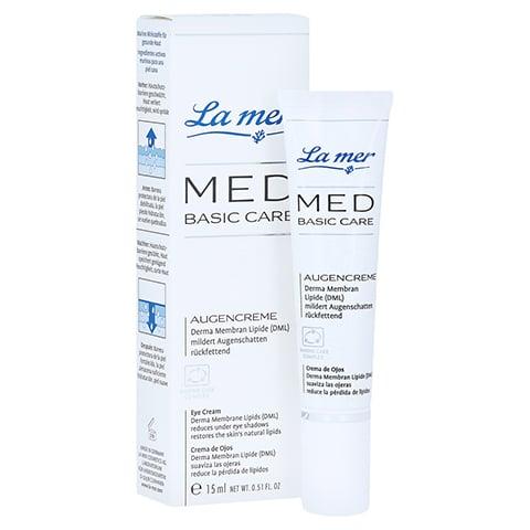 LA MER MED Basic Care Augencreme o.Parfüm 15 Milliliter