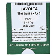 LAVOLTA Shea Lipps Stift 2x4.7 Gramm - Vorderseite