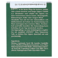 LAVOLTA Shea Lipps Stift 2x4.7 Gramm - Rückseite