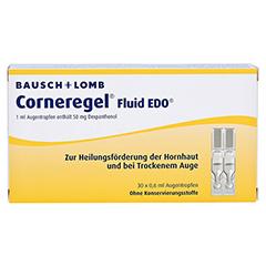 Corneregel Fluid EDO Augentropfen 30x0.6 Milliliter N1 - Vorderseite