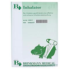 Inhalator Kunststoff weiß 1 Stück - Vorderseite