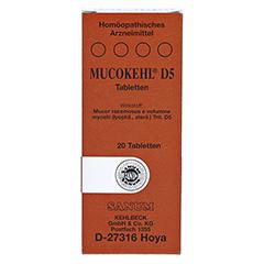 MUCOKEHL Tabletten D 5 20 Stück N1 - Vorderseite