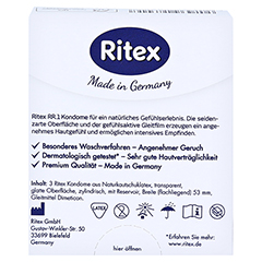 RITEX RR.1 Kondome 3 Stück - Rückseite