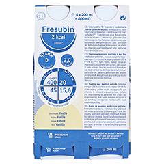 Fresubin 2 kcal Drink Vanille Trinkflaschen 4x200 Milliliter - Vorderseite