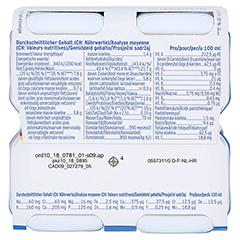 Fresubin 2 kcal Fibre Drink Schokolade Trinkflaschen 4x200 Milliliter - Unterseite