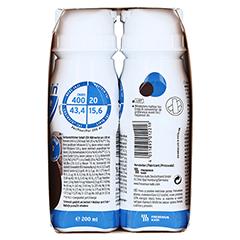 Fresubin 2 kcal Fibre Drink Schokolade Trinkflaschen 4x200 Milliliter - Linke Seite