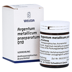 ARGENTUM METALLICUM praeparatum D 10 Trituration 20 Gramm N1