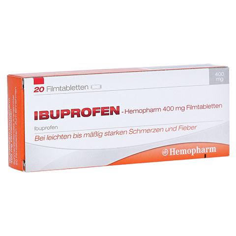 Ibuprofen-Hemopharm 400mg 20 Stück
