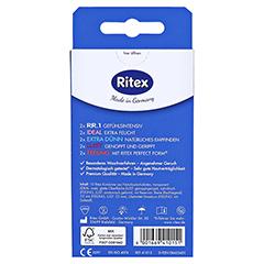 Ritex Sortiment Kondome 10 Stück - Rückseite