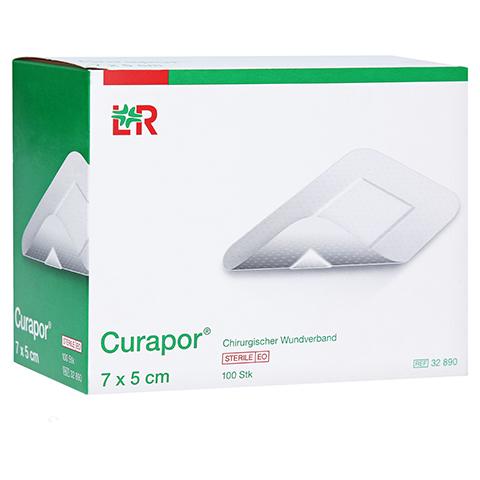 CURAPOR Wundverband steril 5x7 cm 100 Stück