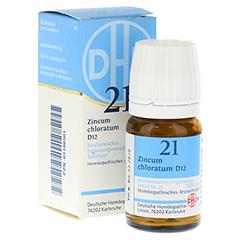 BIOCHEMIE DHU 21 Zincum chloratum D 12 Tabletten 80 Stück N1