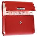 Pillenbox-Set für 1 Woche - rot