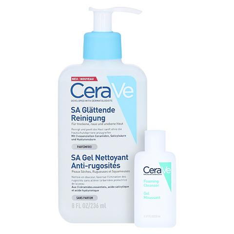 CERAVE SA Reinigung Lotion + gratis Cerave schäumendes Reinigungsgel 20 ml 236 Milliliter