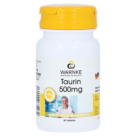 TAURIN 500 mg Tabletten 60 Stück