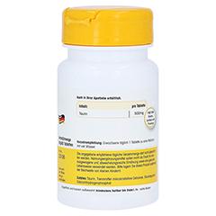 TAURIN 500 mg Tabletten 60 Stück - Linke Seite