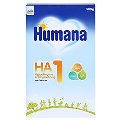 HUMANA HA 1 Anfangsnahrung Pulver 500 Gramm - Vorderseite