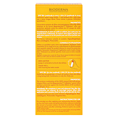 BIODERMA Photoderm Nude Touch Creme golden + gratis BIODERMA Sensibio Gel 45 ml 40 Milliliter - Rückseite