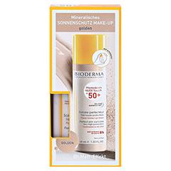 BIODERMA Photoderm Nude Touch Creme golden + gratis BIODERMA Sensibio Gel 45 ml 40 Milliliter - Vorderseite