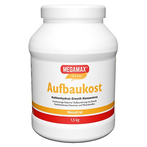 MEGAMAX Aufbaukost neutral Pulver 1.5 Kilogramm
