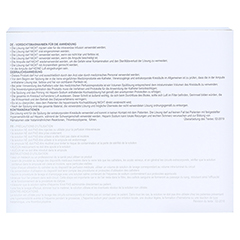 HEPARIN SODIUM 500 I.U. - 100 I.U./ml Ampullen 10x5 Milliliter - Rückseite