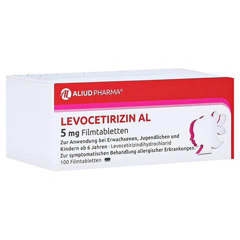 Levocetirizin AL 5mg 100 Stück N3
