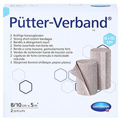 PÜTTER Verband 8/10 cmx5 m 2 Stück - Vorderseite