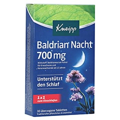 Kneipp Baldrian Nacht 700mg 30 Stück