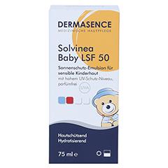 DERMASENCE Solvinea Baby Creme LSF 50 75 Milliliter - Vorderseite