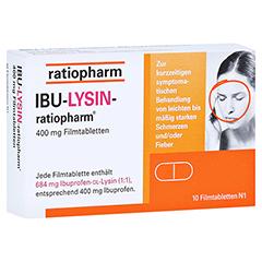 IBU-LYSIN-ratiopharm 400mg 10 Stück N1