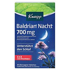 Kneipp Baldrian Nacht 700mg 30 Stück - Vorderseite