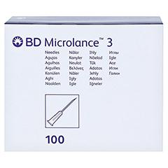 BD Microlance Kanüle 20 G 1 1/2 0,9x40 m 100 Stück - Vorderseite
