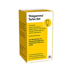 THIOGAMMA Turbo Set Pur Injektionsflaschen 50 Milliliter
