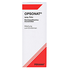 OPSONAT spag.Konzentrat 150 Milliliter N3 - Vorderseite