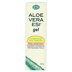 Aloe Vera GEL 99,9% + Vitmin E + Teebaumöl 100 Milliliter - Rückseite