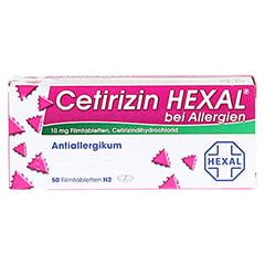 Cetirizin HEXAL bei Allergien 50 Stück N2 - Vorderseite