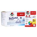 DOPPELHERZ Seefischoel Omega-3 800 mg Kapseln + gratis Doppelherz A-Z Depot Tabletten 240 Stück