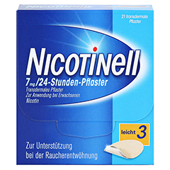 Nicotinell 7mg/24Stunden 21 Stück - Vorderseite