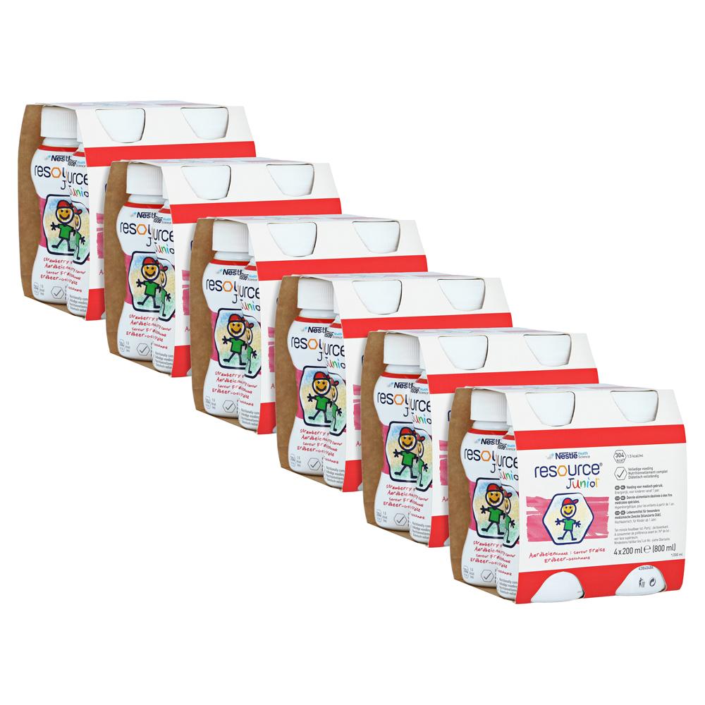 resource-junior-erdbeer-geschmack-flussig-6x4x200-milliliter