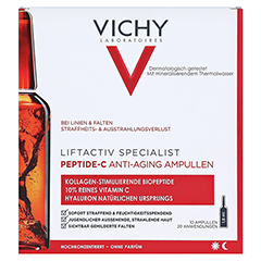 Vichy Liftactiv Specialist Peptide-C Anti-Aging Ampullen 10x1.8 Milliliter - Vorderseite