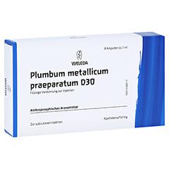 PLUMBUM METALLICUM praep. D 30 Ampullen 8x1 Milliliter N1