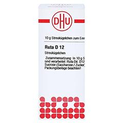 RUTA D 12 Globuli 10 Gramm N1 - Vorderseite