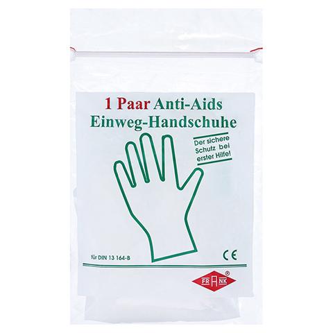 HANDSCHUHE Einmal Anti Aids 2 Stück