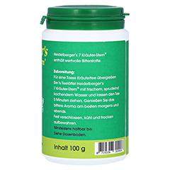 Heidelbergers 7 Kräuter Stern Tee 100 Gramm - Linke Seite